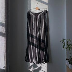 Striped Wide-Leg Pants | H&M
